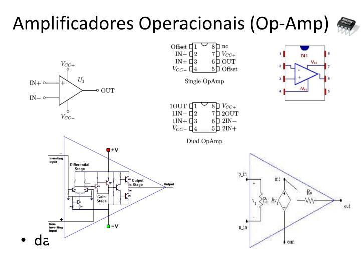 Amplificadores operacionais op amp