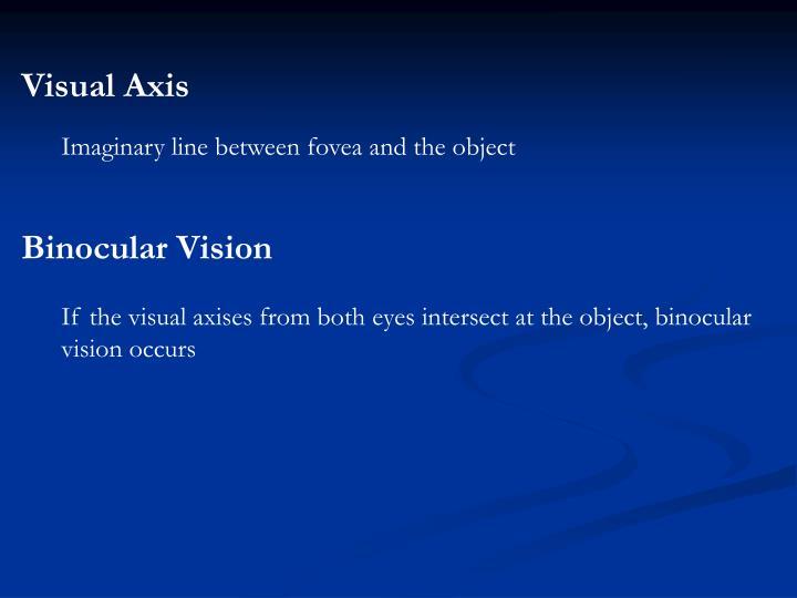 Visual Axis