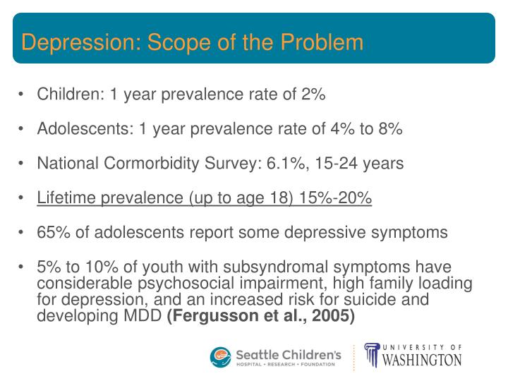 Depression: Scope of the Problem