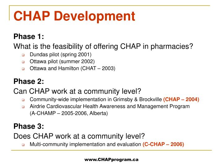 CHAP Development