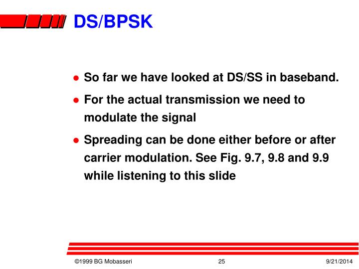 DS/BPSK