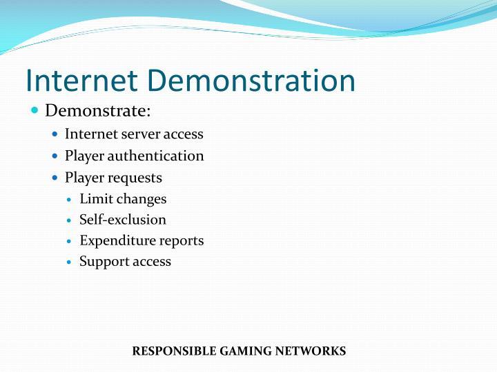 Internet Demonstration