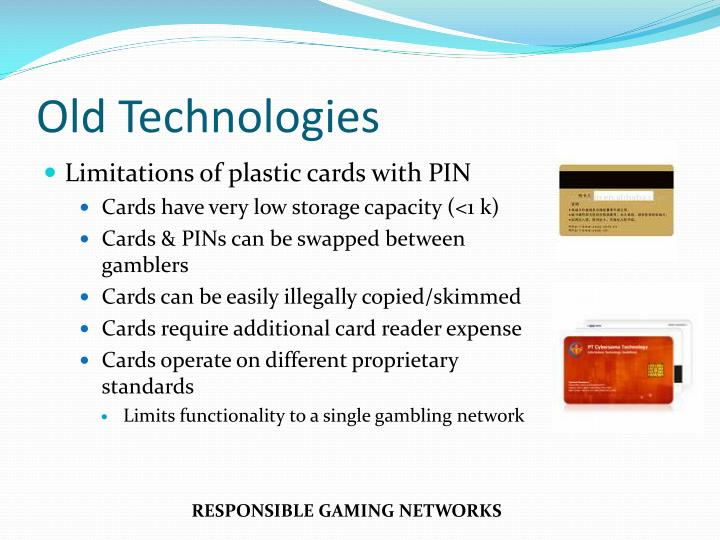 Limitations of plastic cards with PIN