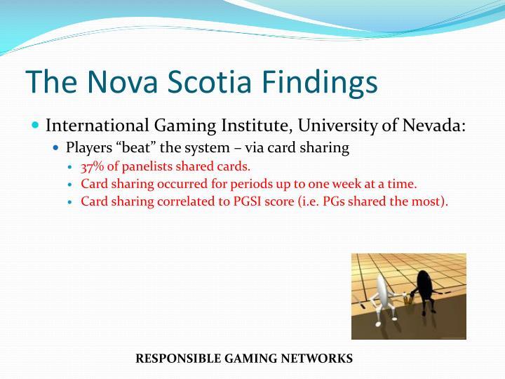 The Nova Scotia Findings