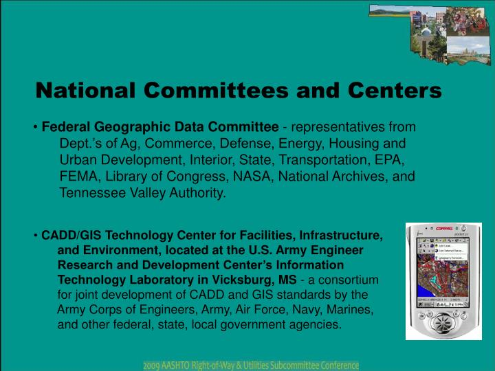 National Committees and Centers