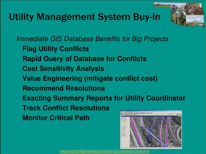 Utility Management System Buy-In