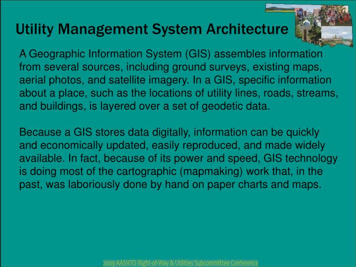 Utility Management System Architecture