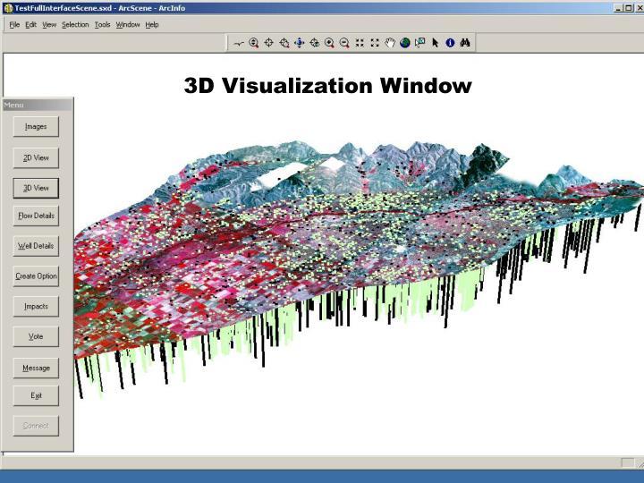 3D Visualization Window