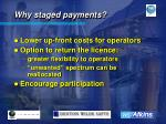 why staged payments