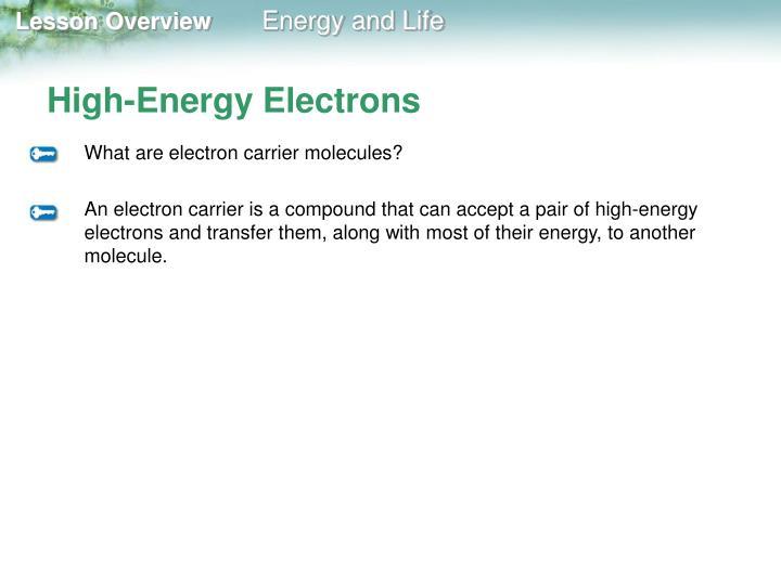 High-Energy Electrons