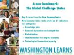 a new benchmark the global challenge states