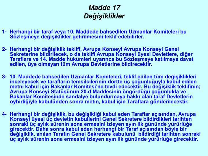 Madde 17