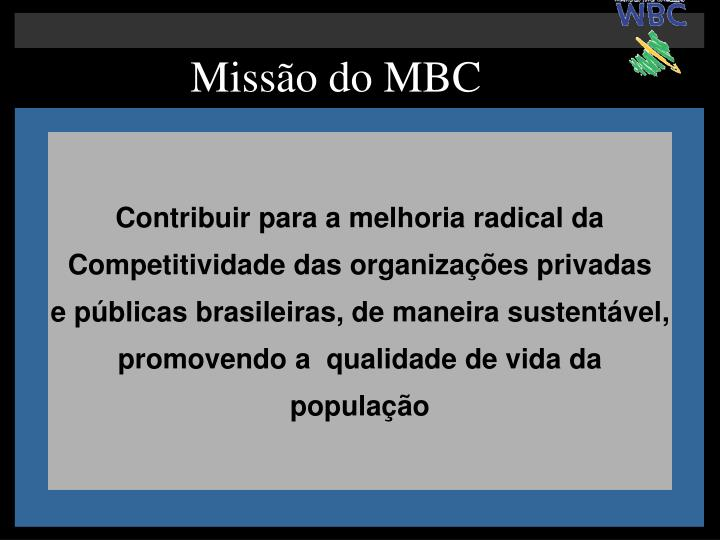 Missão do MBC