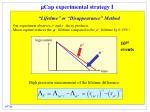 m cap experimental strategy i