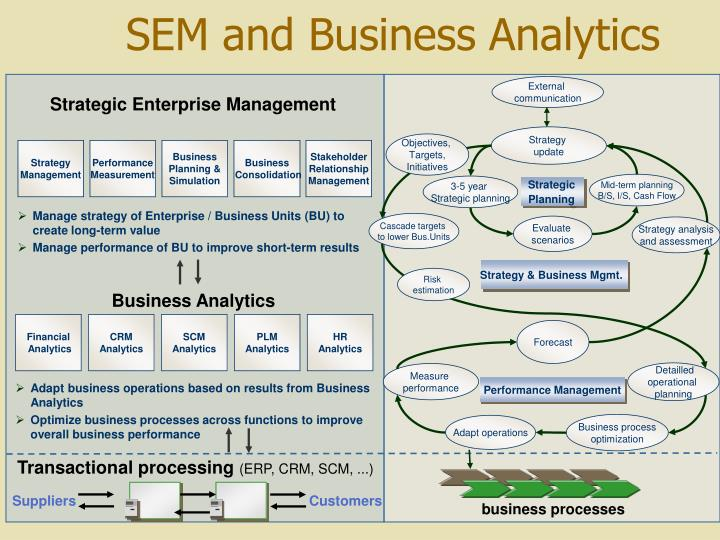 SEM and Business Analytics