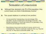 semantics of concession6