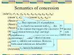 semantics of concession7