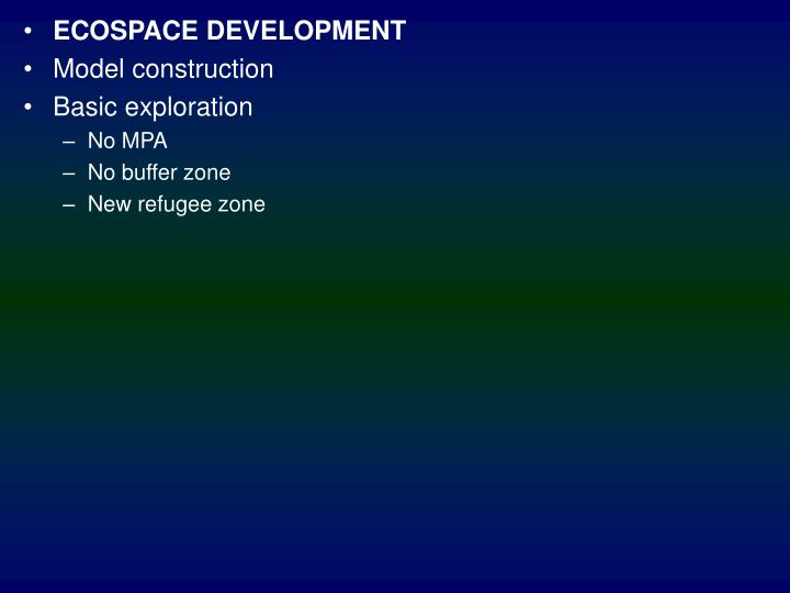 ECOSPACE DEVELOPMENT