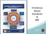 4 evidence based standards rbc