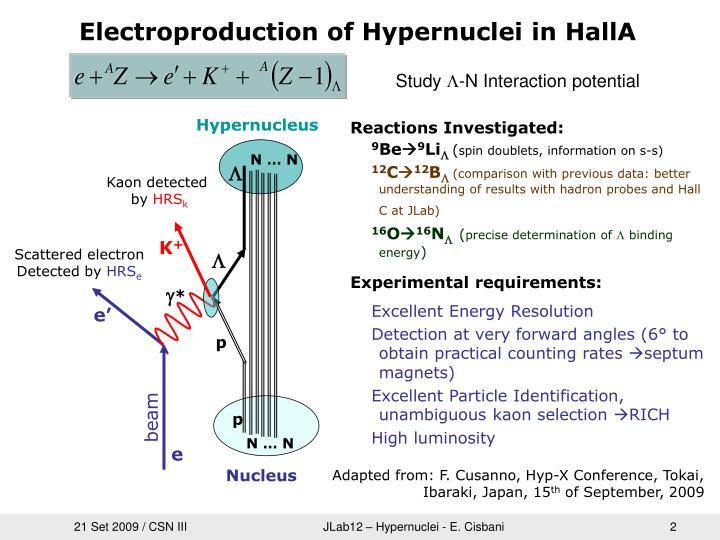 Hypernucleus
