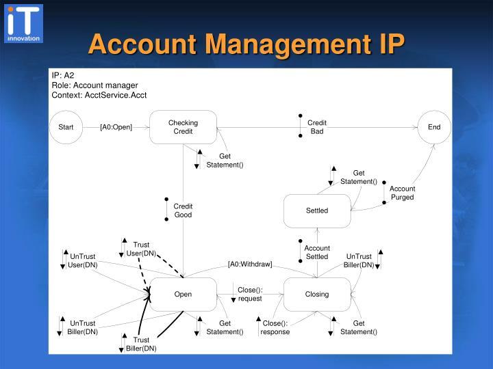 Account Management IP