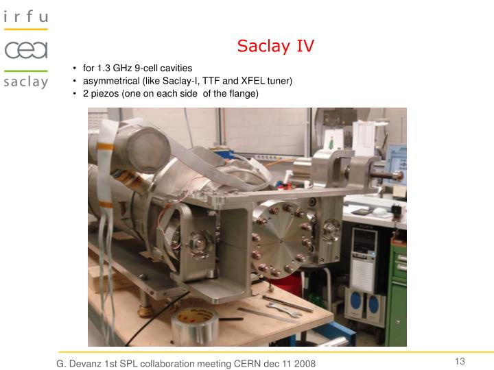 Saclay IV