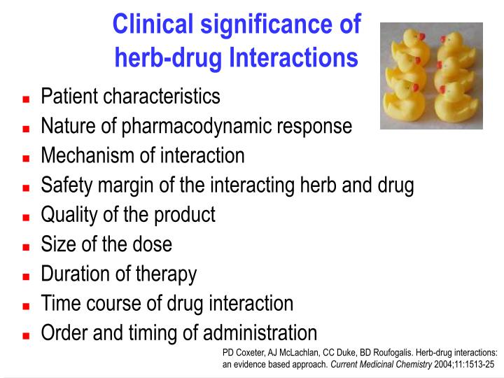 Clinical significance of