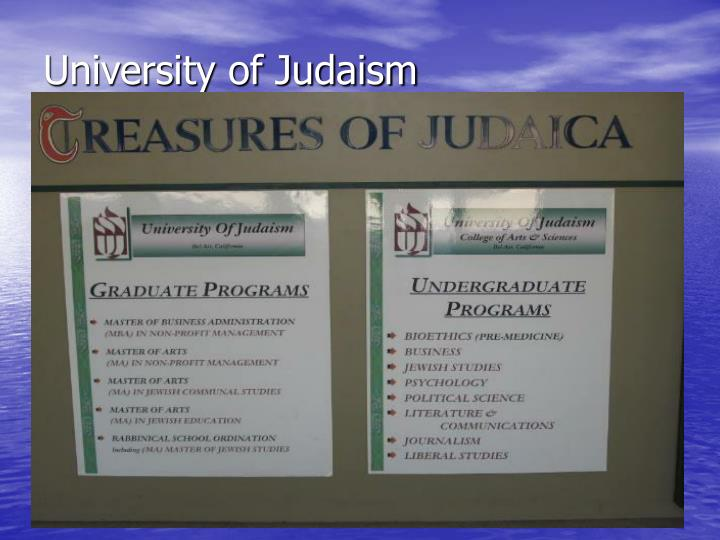 University of Judaism