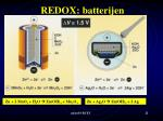 redox batterijen
