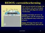 redox corrosiebescherming