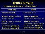 redox herhalen2