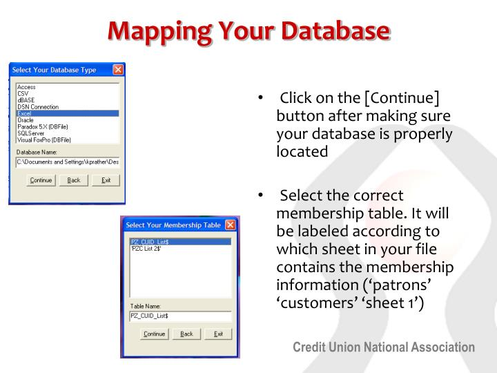 Mapping Your Database