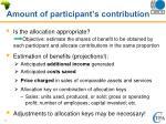 amount of participant s contribution1