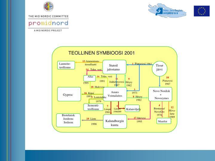 TEOLLINEN SYMBIOOSI 2001