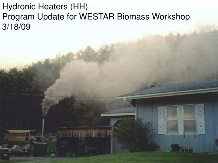 Hydronic Heaters (HH)