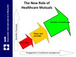 the new role of healthcare mutuals