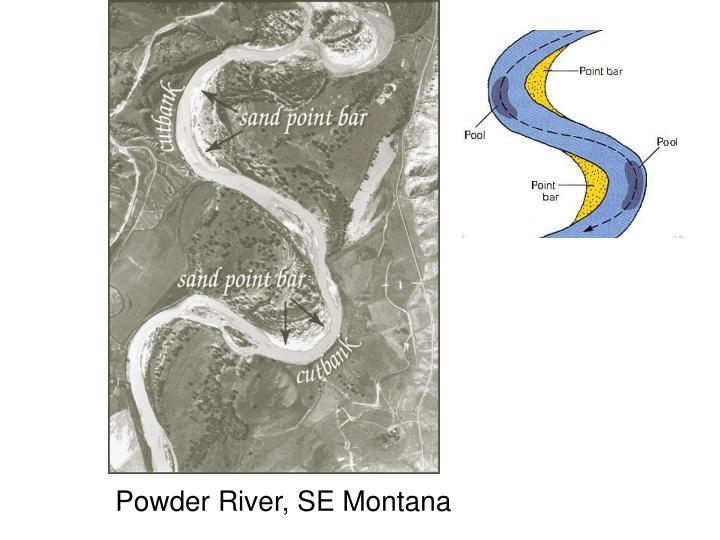 Powder River, SE Montana