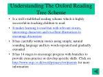 understanding the oxford reading tree scheme