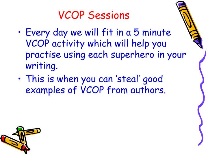 VCOP Sessions