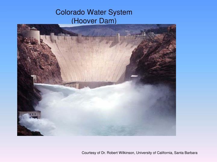 Colorado Water System