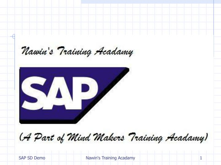 PPT - OVERVIEW ON SAP SALES & DISTRIBUTION PowerPoint