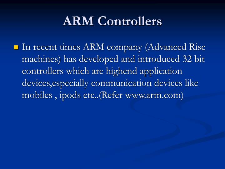 ARM Controllers