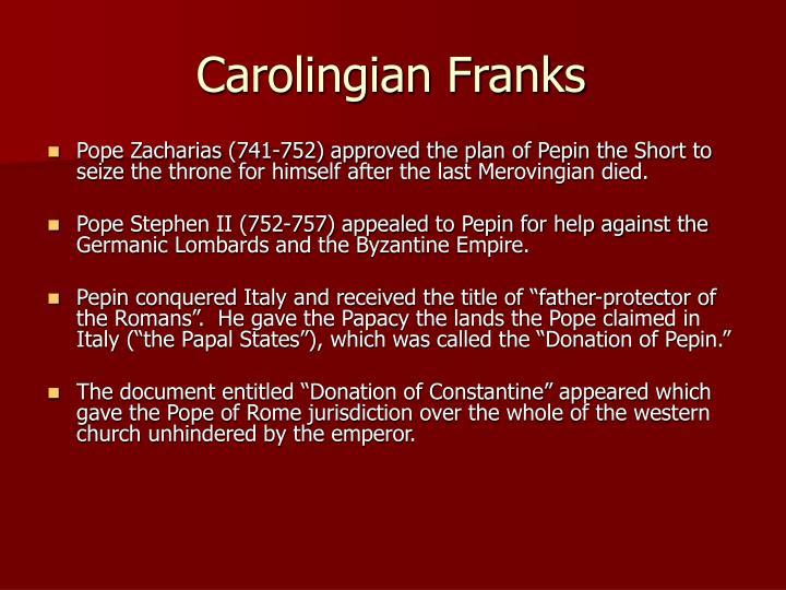 Carolingian Franks