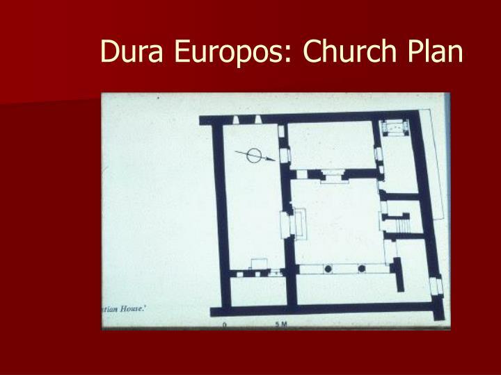 Dura europos church plan
