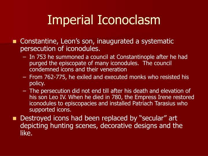 Imperial Iconoclasm