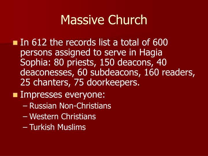 Massive Church