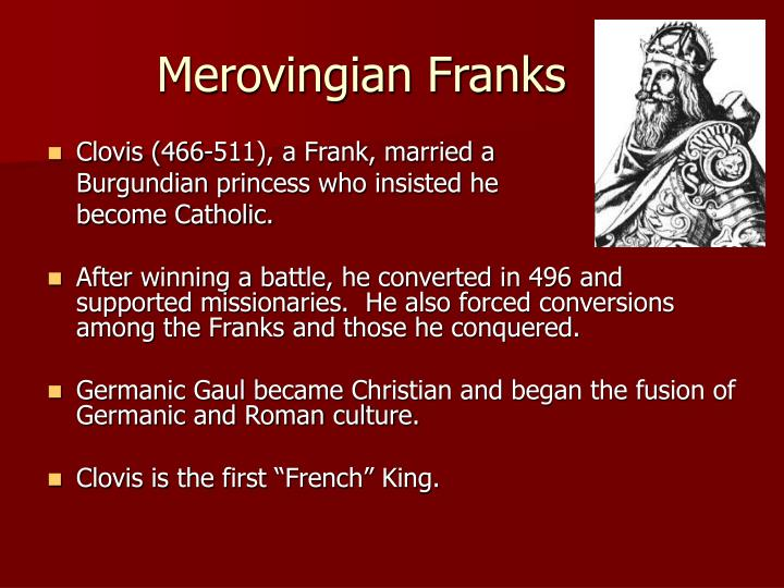Merovingian Franks