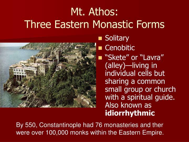 Mt. Athos: