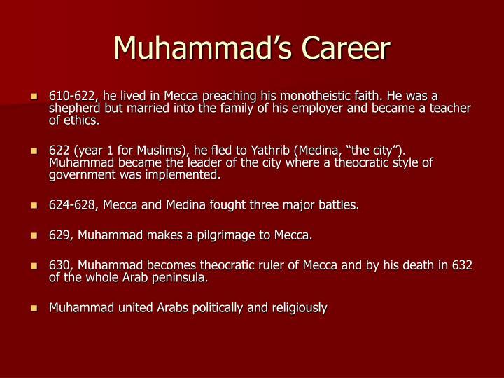 Muhammad's Career
