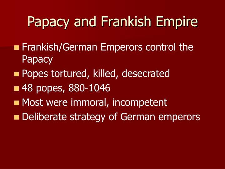 Papacy and Frankish Empire